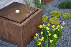 Wasserspiele Cortenstahl - Garten Bronder (1)