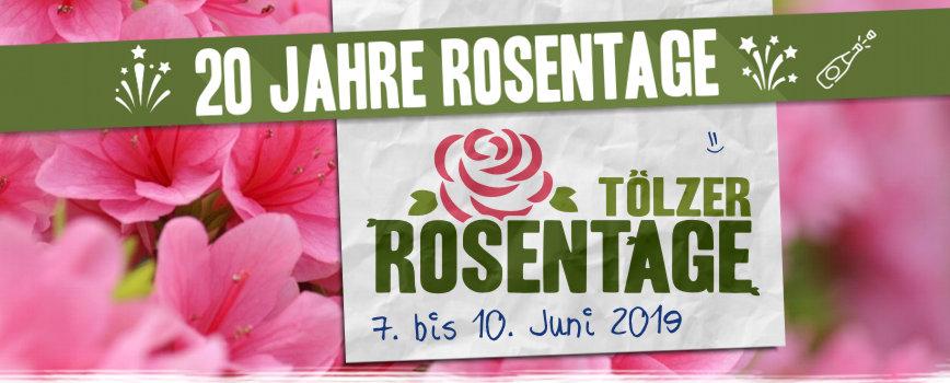 20. Tölzer Rosentage | 07- -10.06.2019