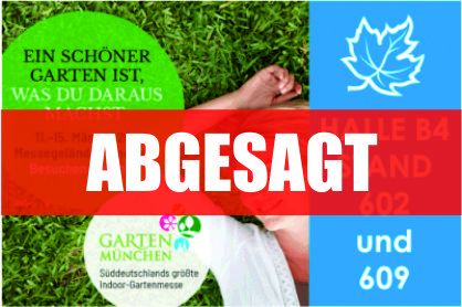 Garten München 2020 | Absage