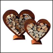 Holzlege-Herz-Set-Rost